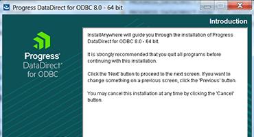ODBC installer