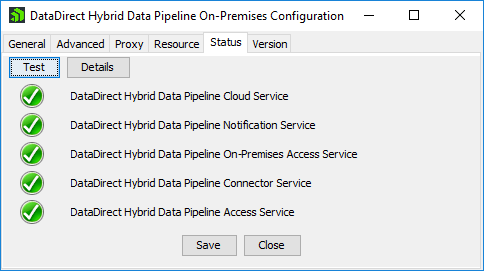 Hybrid Data Pipeline – After Configuration