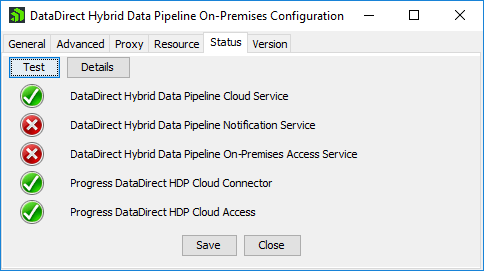 Hybrid Data Pipeline Before Status