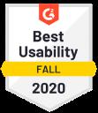 G2 2020 best usability