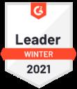 G2 Leader 2021 leader