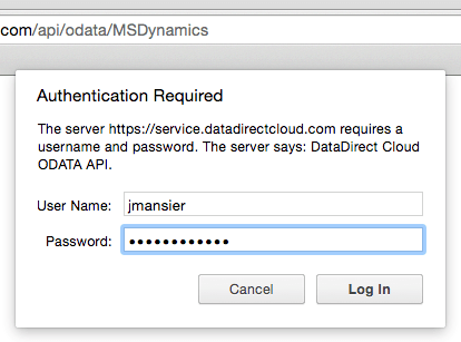 DataDirect Authenticate