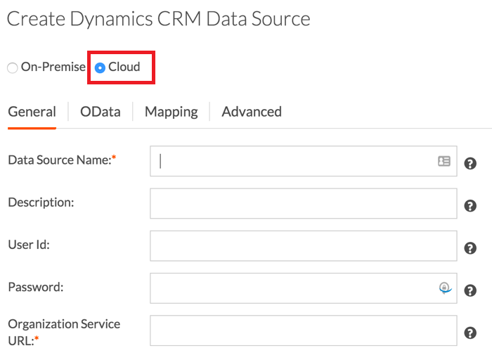 CRM Data Source