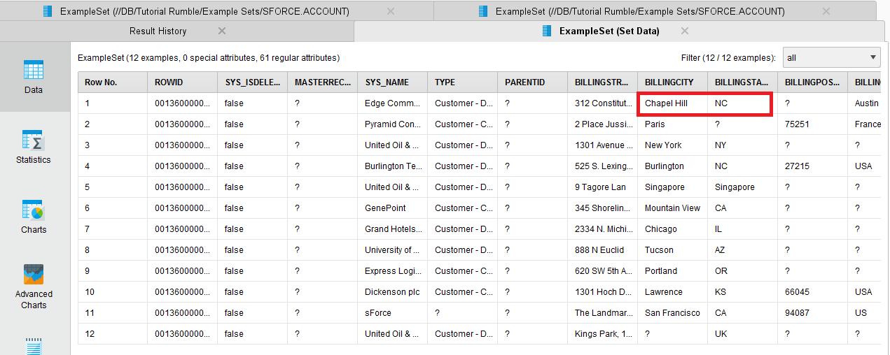 Analyzing Salesforce Data in RapidMiner-5