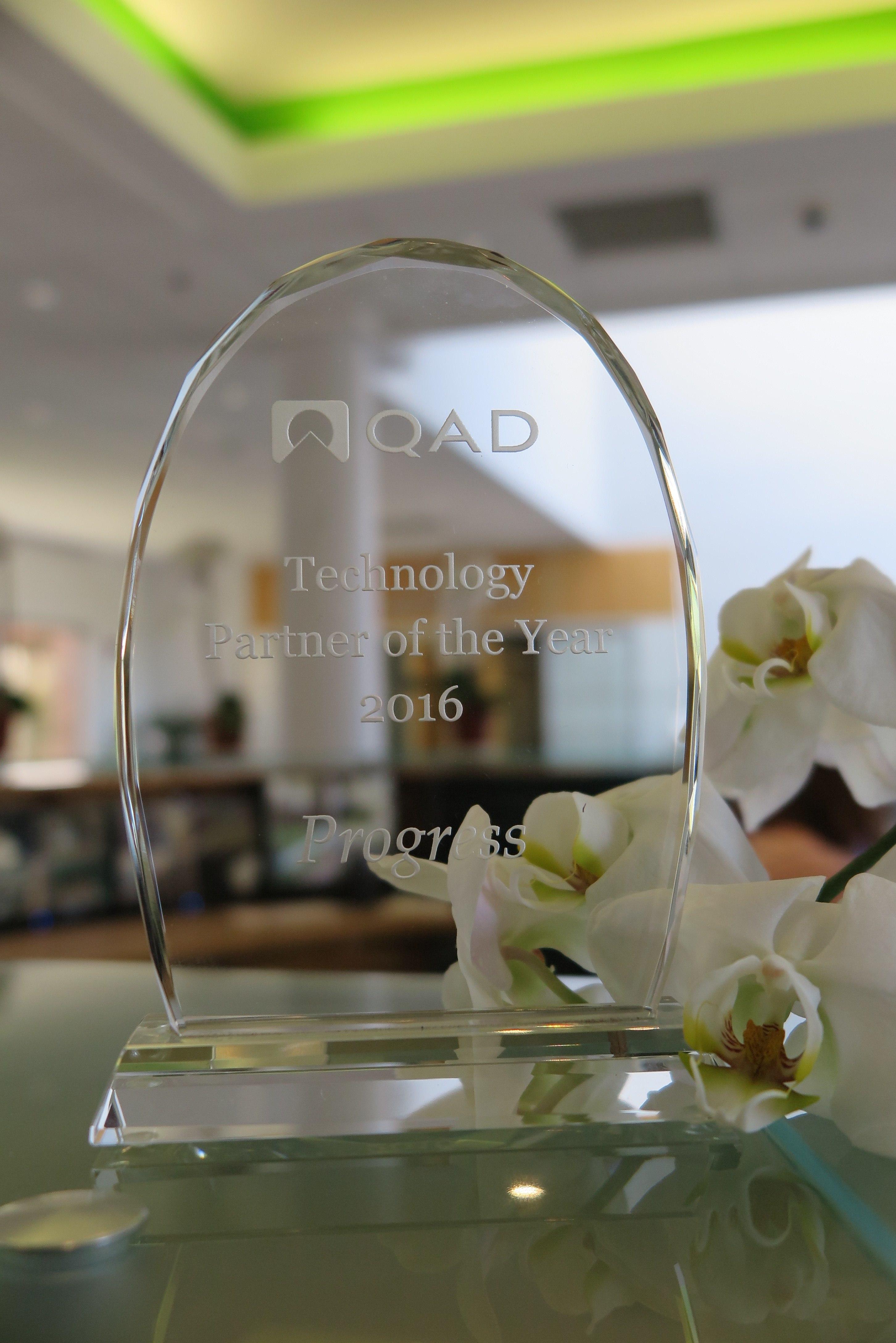 QAD Partner Award 2016