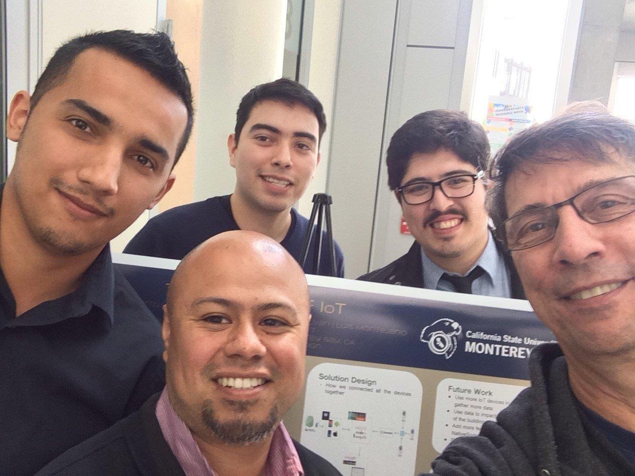 CSUMB Team Selfie
