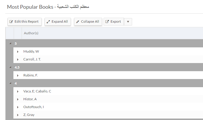 MultiLingual Support English and Arabic