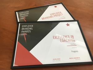 Progress Excellence in Coaching and Employer Branding Awards