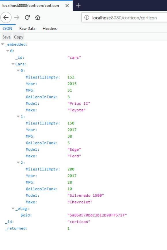 MilesTillEmpty in API