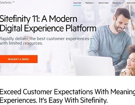 Progress Sitefinity Homepage_270x210