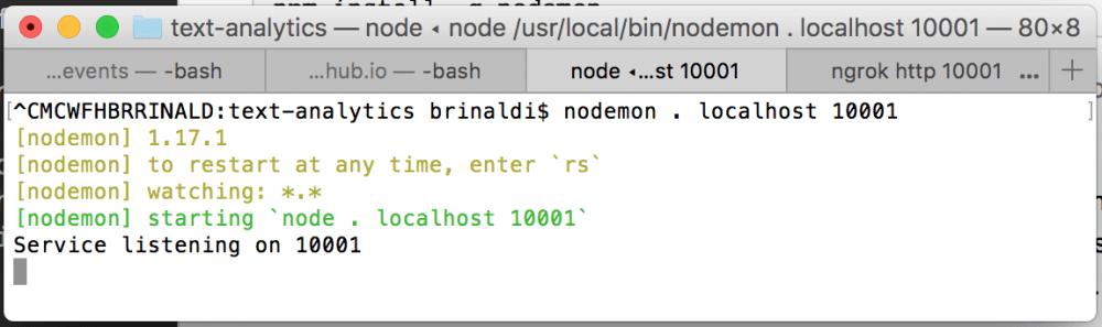 nodemon