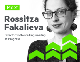 Meet Rossitza Fakalieva Director of Software Engineering at Progress_270x210