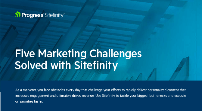 Top 5 Marketing challenges