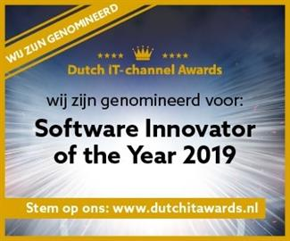 Progress Nominated Innovator of the Year Dutch IT Channel
