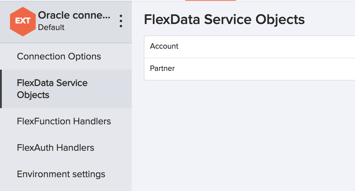 Connecting Kinvey to Oracle as External Flex Data Service Object
