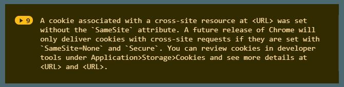 SameSite-cookies-console-log