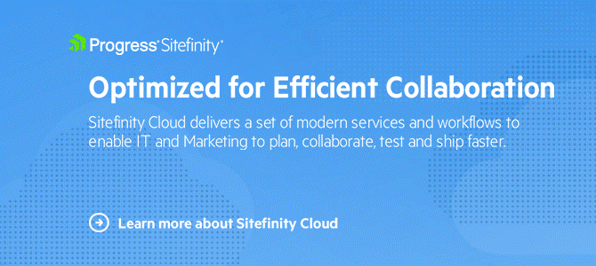 Sitefinity Cloud Overview