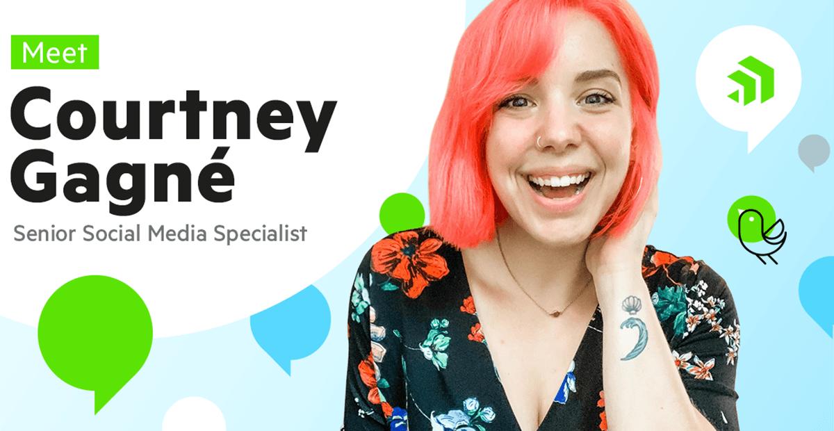 Meet Courtney Gagné, Senior Social Media Specialist at Progress
