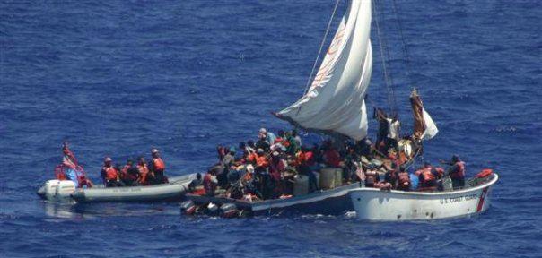U.S. Coast Guard refugee rescue
