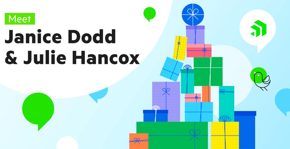 Meet Janice Dodd and Julie Hancox, Progress Wish Tree Planners (We Think They Know Santa!)