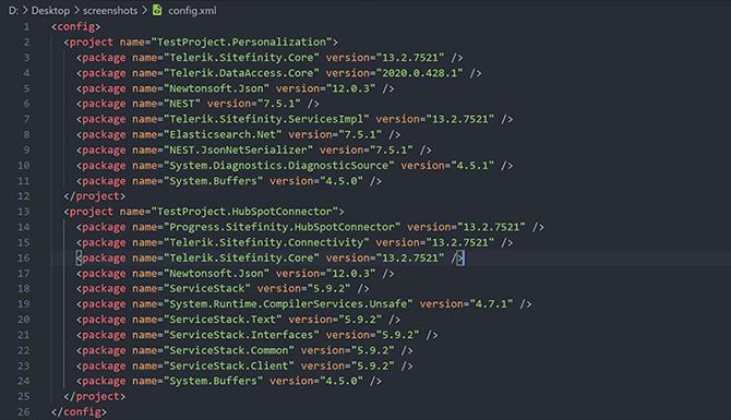 CLI Upgrade Config