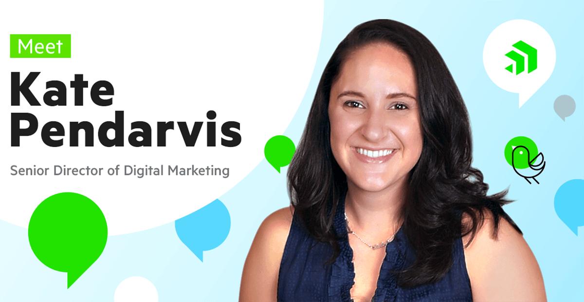 Meet Kate Pendarvis, Senior Director of Digital Marketing for Progress