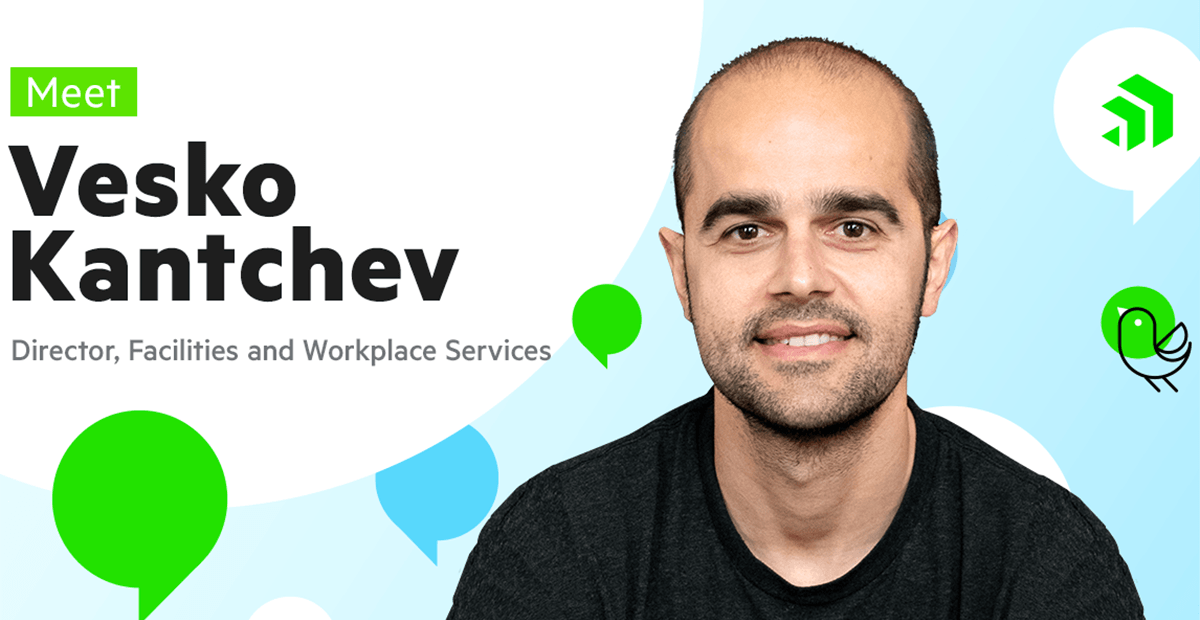 Meet Vesko Kantchev, Director of Facilities and Workplace Services at Progress