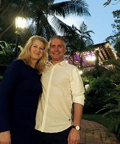 Stephan Leferink of Progress and his wife, Anne-Marie.