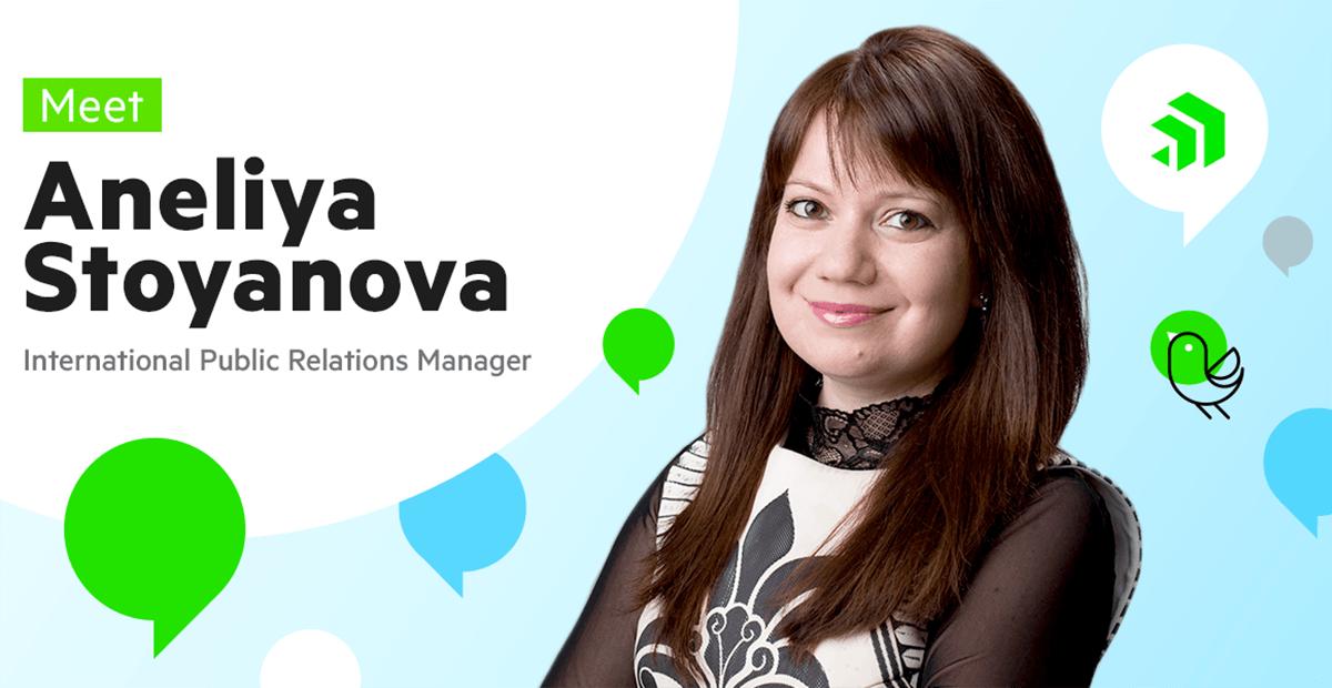 Meet Aneliya Stoyanova, International PR Manager at Progress