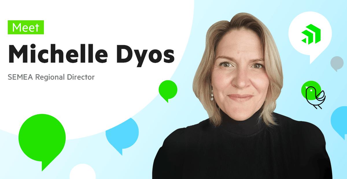 Meet Michelle Dyos, SEMEA Regional Director at Progress