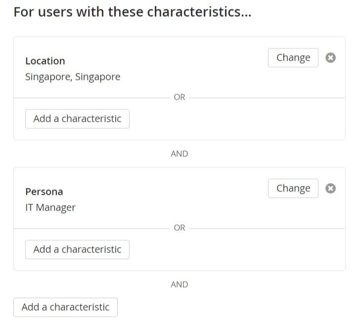 segment characteristics