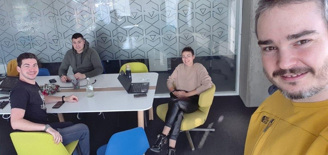 Rumen Zhekov Q&A in the office 2021