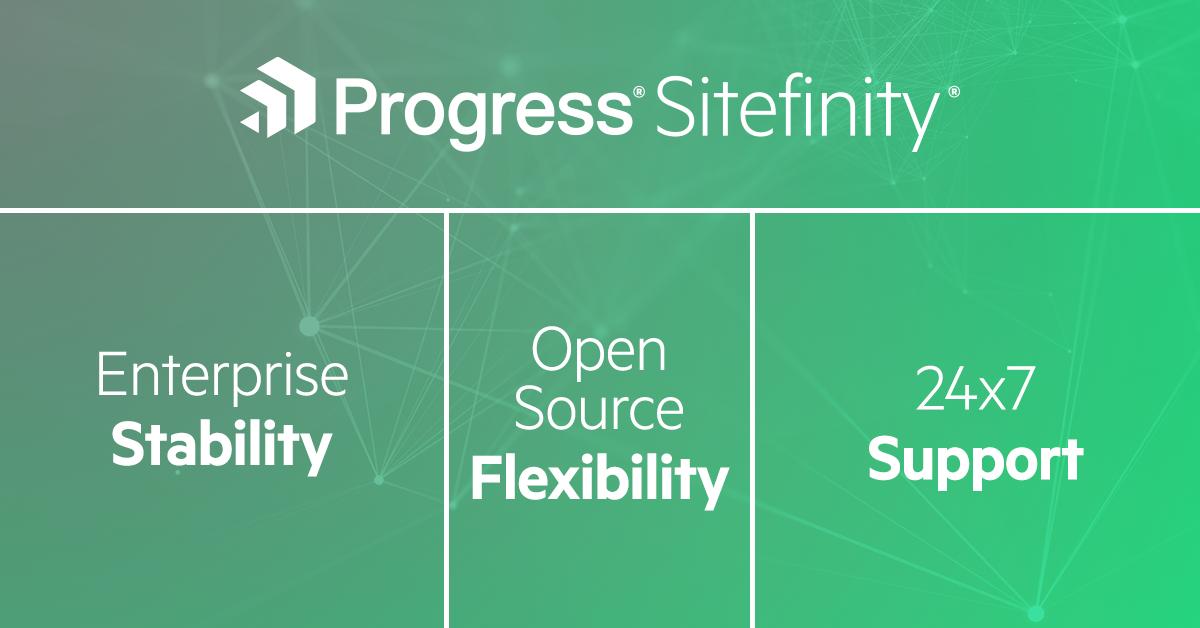 EnterpriseStabilityOpenSourceFlexibility