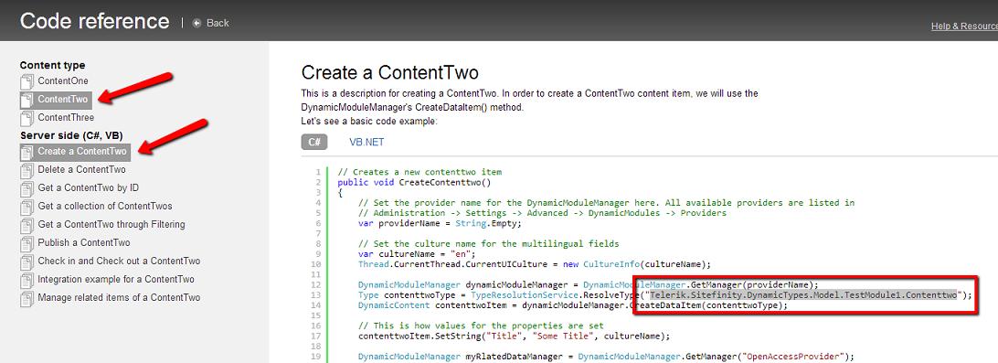 Get Content Type