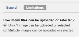 Module image limitation