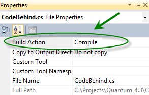 Sitefinity and the ASP NET Code-Behind Model