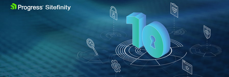 Sitefinity 10 Release Banner