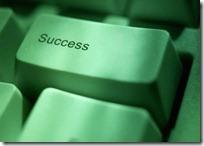 The Success button