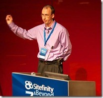 Gabe Sumner at the Sitefinity & Beyond Conference