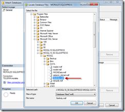Sitefinity-4-Database-Deployment-Select-MDF