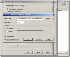 IIS-6-Add-Extension-Mapping