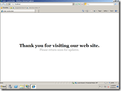 Sitefinity-Welcome-Message