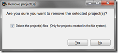 Delete Sitefinity Project