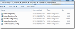 Sitefinity-Configuration-Settings-Folder