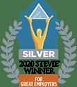 silver 2020 stevie winner for great employers