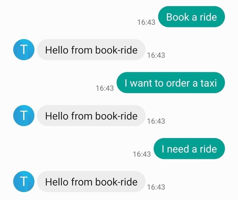 New Conversation Test