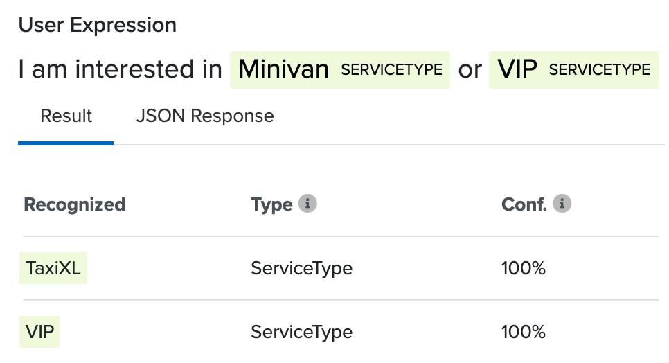 Entity Service Type Test