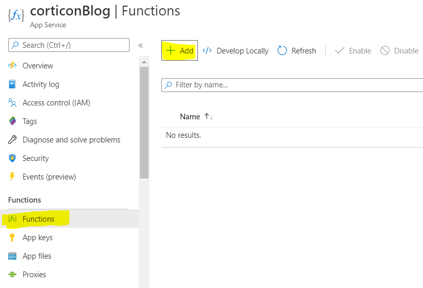 Add functions