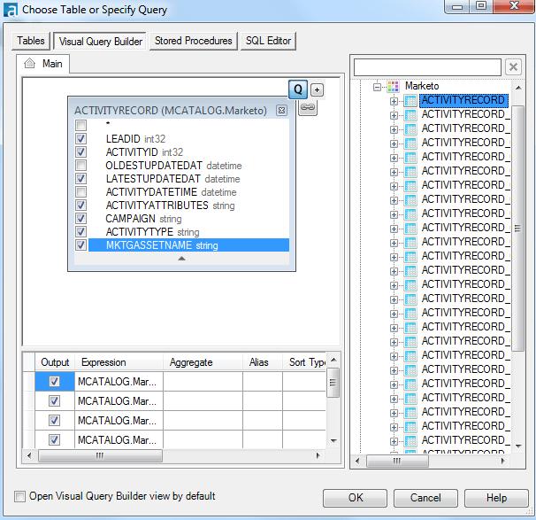 Alteryx-DataDirect-Integration-Table