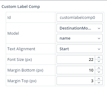 Dynamic Label Properties